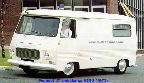 peugeot j7 1973 contact ambulances. Black Bedroom Furniture Sets. Home Design Ideas
