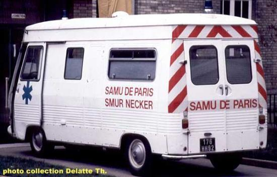 Peugeot J7 SMUR Necker - Samu de Paris