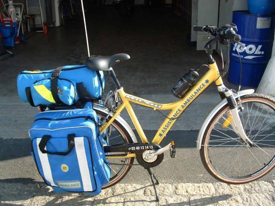 Vélo Ambulance à Nantes dép: 44